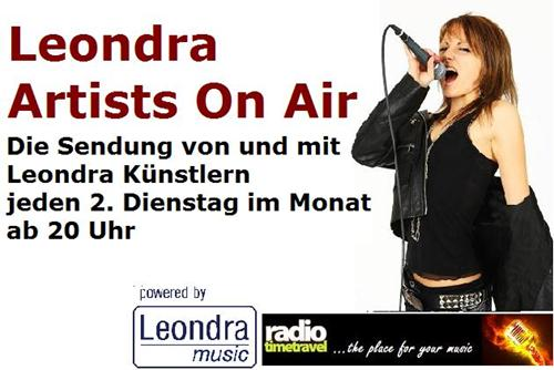 Leondra Artists On Air Logo